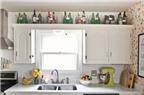 6 cách tận dụng khoảng trống trên tủ bếp