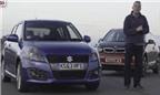 Màn rượt đuổi gây cấn giữa BMW i3 và Suzuki Swift Sport