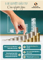 5 bí quyết đầu tư của người giàu