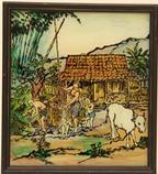 Trưng bày tranh kính độc đáo của Indonesia