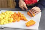 7 sai lầm phổ biến khi chế biến thực phẩm