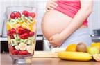 7 loại trái cây bà bầu không nên ăn