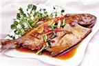 Món ăn, bài thuốc từ cá chim