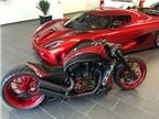 No Limit Custom độ Harley V-Rod phong cách Koenigsegg Agera R