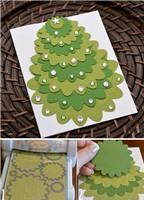 4 mẫu thiệp Noel xinh với cách làm đơn giản