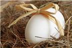 Mặt nạ lòng trắng trứng cho da mịn màng
