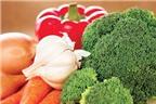 Tỏi và bông cải xanh có thể chống ung thư