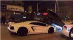 Siêu xe Lamborghini Aventador rúc gầm Mercedes-Benz GLK