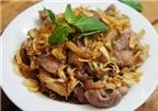 Món ăn thuốc từ thịt dê giúp tráng dương