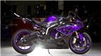 Siêu môtô BMW S1000RR bắt mắt hơn bao giờ hết với màu tím ánh kim
