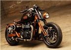 Triumph Bonneville ốp gỗ dành cho phái yếu