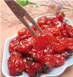 Cách làm mứt cà chua bi ngon dẻo, ngọt ngào đón Tết