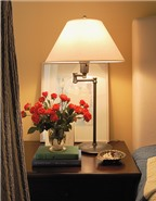 Phong thủy bố trí đèn ngủ giúp bạn ngon giấc