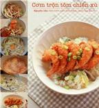 Thực đơn các món tôm ăn kiểu mới ngon cơm