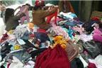 Mua quần áo hàng thùng: Coi chừng rước bệnh!