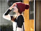 Bí quyết chọn mũ len hợp với khuôn mặt và kiểu tóc cho phái đẹp
