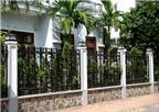 Thiết kế tường rào nhà ở theo phong thủy