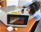 5 cách làm sạch lò vi sóng