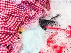 Mẹo dùng nước tẩy cho quần áo màu