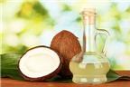 Dưỡng môi hiệu quả với dầu dừa
