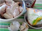 Cánh gà chiên sốt cà ngon cơm ngày lạnh