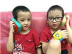 Nhật kí nhà 3B: Ai bảo điện thoại không tốt cho trẻ con chứ!