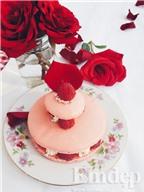 Ispahan Macarons - bánh hoa cho những tâm hồn lãng mạn