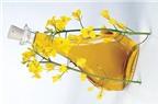 Lợi ích sức khỏe của dầu hạt cải