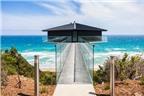 Nhà một cột độc đáo bên bờ biển Australia