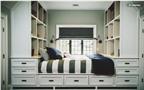 8 mẫu thiết kế tủ, kệ trong phòng dành cho khách