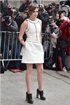 Kristen Stewart phong cách với đồ trắng