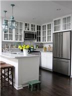 Bí quyết nới rộng không gian phòng bếp 11m2