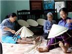 Làng nghề hồi sinh: Nghiêng nghiêng vành nón