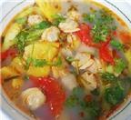 Cách nấu canh chua từ ngao, cá, sườn ngon tuyệt trần
