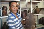 Nghệ nhân trẻ kiếm tiền tỷ mỗi năm từ gốm