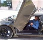 Amir Khan khoe siêu xe Lamborghini