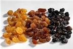 Những lợi ích sức khỏe từ nho khô