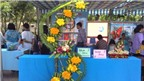 Rộn ràng hội thi cắm hoa, bày mâm ngũ quả tại Bà Rịa