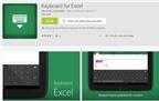 Ứng dụng bàn phím chuyên dụng cho Excel có mặt trên Play Store