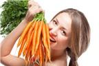 Bất ngờ với tác dụng làm đẹp da của cà rốt