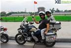 Cận cảnh 'quái thú' BMW xuyên Việt của biker nước ngoài