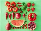Những thực phẩm màu đỏ tốt cho sức khỏe