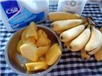 Bánh chuối mít đơn giản mà ngon