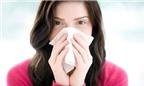 Đối phó với bệnh viêm mũi, xoang khi thời tiết thay đổi