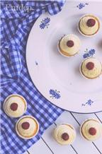 Cách làm vanilla cupcakes ngọt ngào và xinh xắn