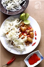 Bột chiên mắm ớt: Món ăn vặt ngon rẻ bất ngờ!