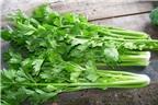 Giảm cân đơn giản, hiệu quả với rau cần tây