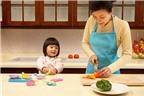 Mẹo hay dạy con học nấu ăn