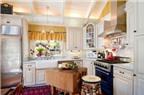 Đảo bếp theo phong cách vintage