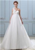 Cách chọn váy cưới cho nàng bầu